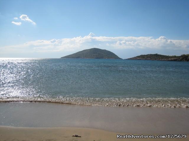 Ag. Nikolaos beach, near the house - Holiday Apt- panoramic views of the Athens Riviera