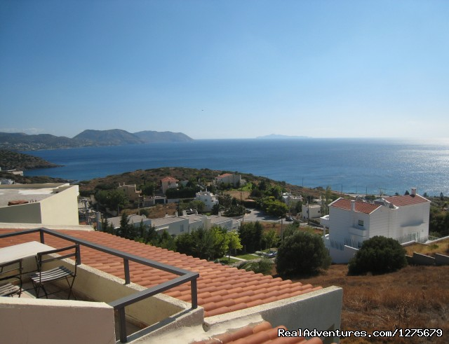 The view at the Athens Riviera - Holiday Apt- panoramic views of the Athens Riviera