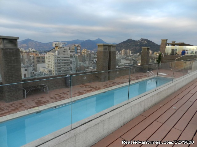 Swimming Pool - Best Location furnished Apartment Santiago Chile