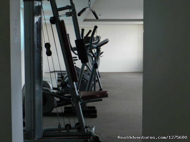 Gym - Best Location furnished Apartment Santiago Chile