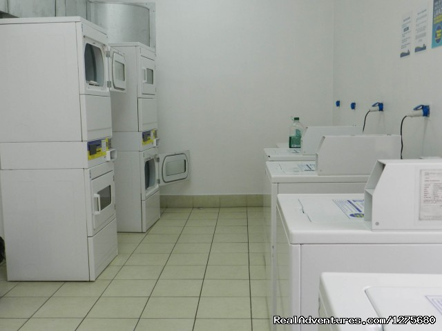 Laundry Facility - Best Location furnished Apartment Santiago Chile