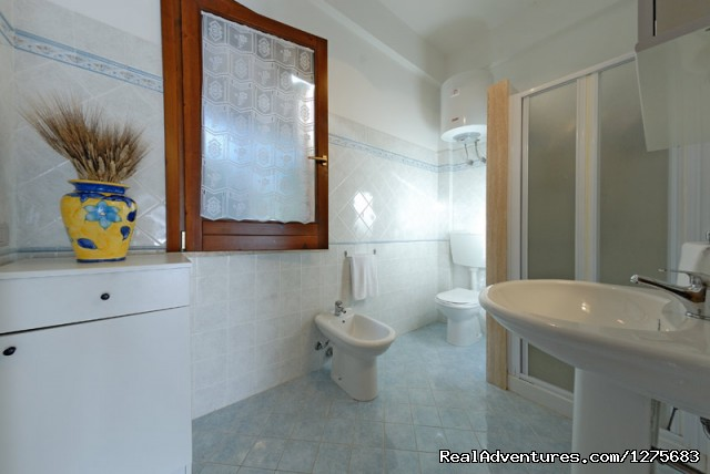 Bathroom With Shower - House By The Sea