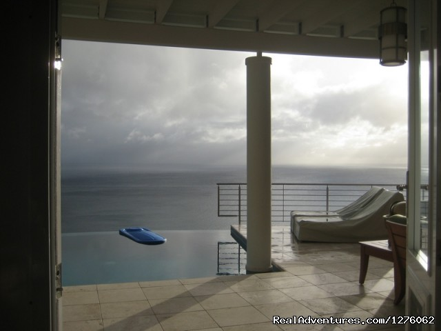 Infinity Pool  And Great Deck - Vacation Rental is Virgin Islands