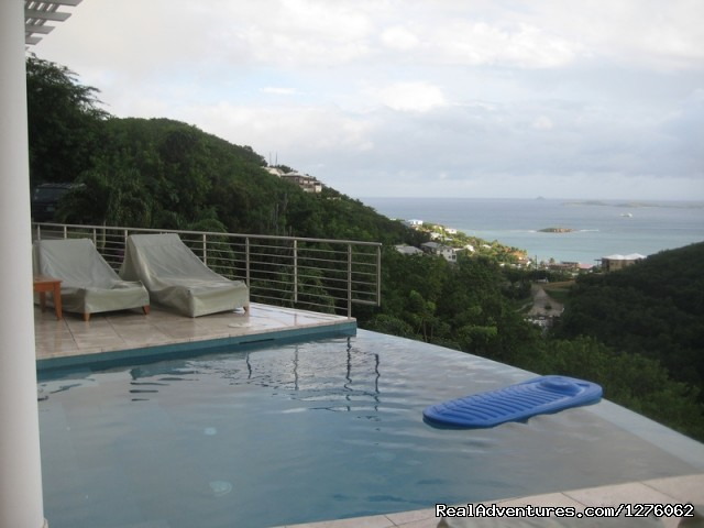 Infinity Pool - Vacation Rental is Virgin Islands