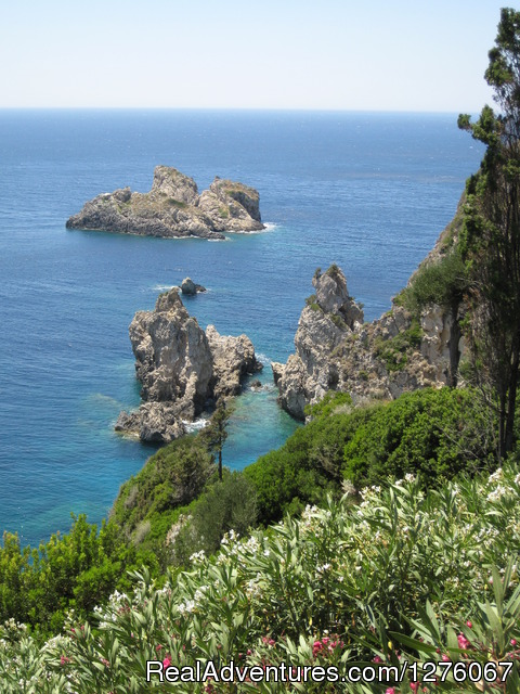 Our walks - Walking, Hiking, Kayaking Tour of Corfu Island