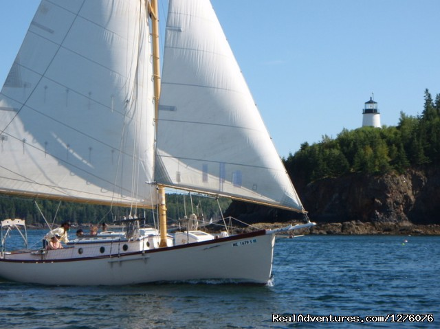 Custom Sailing Charters from Rockland, Maine