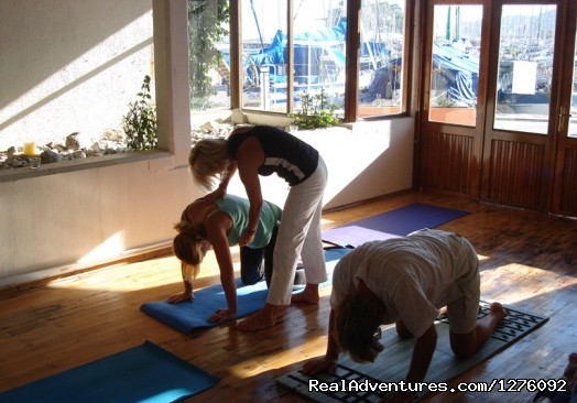 Yoga-Bea private yoga class in France - Yoga, Ayurveda Retreat in Biarritz, France