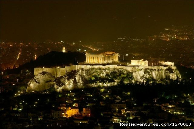 Acropolis At Night - Athens Historic Centre Penthouse