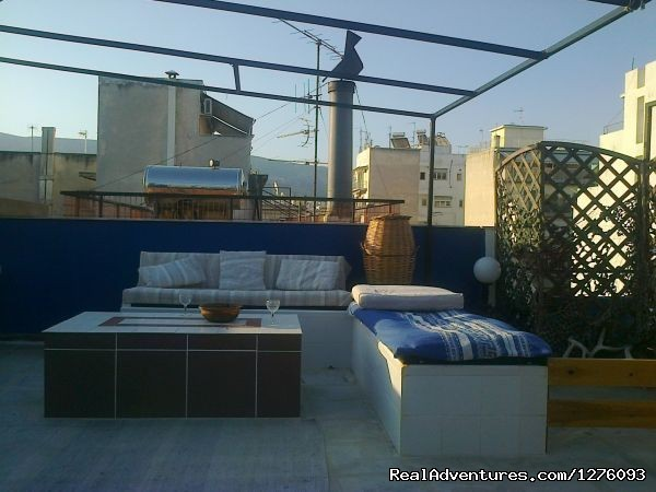 Terrace For 2 Bedroom Apartment - Athens Historic Centre Penthouse