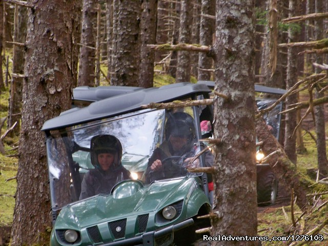 OHV ride on Kruzof Island - Outdoor Recreation Excursions from Sitka Alaska