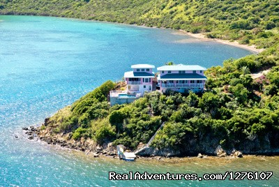 South Sound Luxury Waterfront Villa Virgin Gorda Seclusion and Peaceful