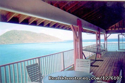 Great Views of South Sound - South Sound Luxury Waterfront Villa Virgin Gorda