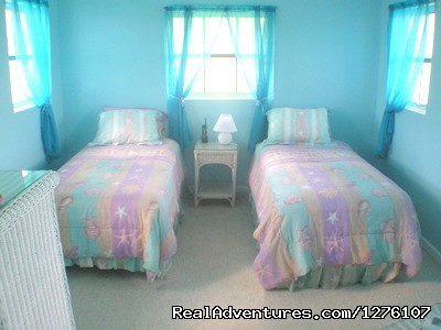Twin Bedroom - South Sound Luxury Waterfront Villa Virgin Gorda