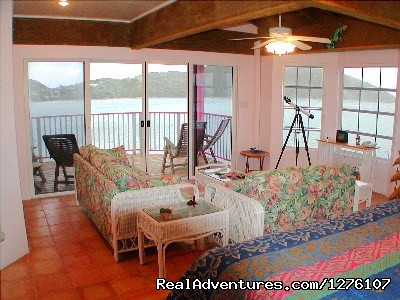 Master Bedroom - South Sound Luxury Waterfront Villa Virgin Gorda