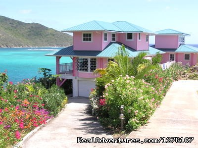 Water on three directions - South Sound Luxury Waterfront Villa Virgin Gorda