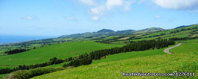Shore excursion 4x4 or van tour - S.Miguel, Azores: 4x4 Tour Azores