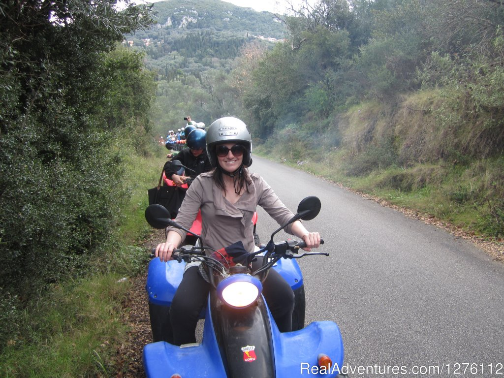 riding through the Amazing Corfu olive covered hills | Image #1/12 | Corfu, Greece | ATV Trips | Discover Corfu beauties on Quad/ATV Safari Tour