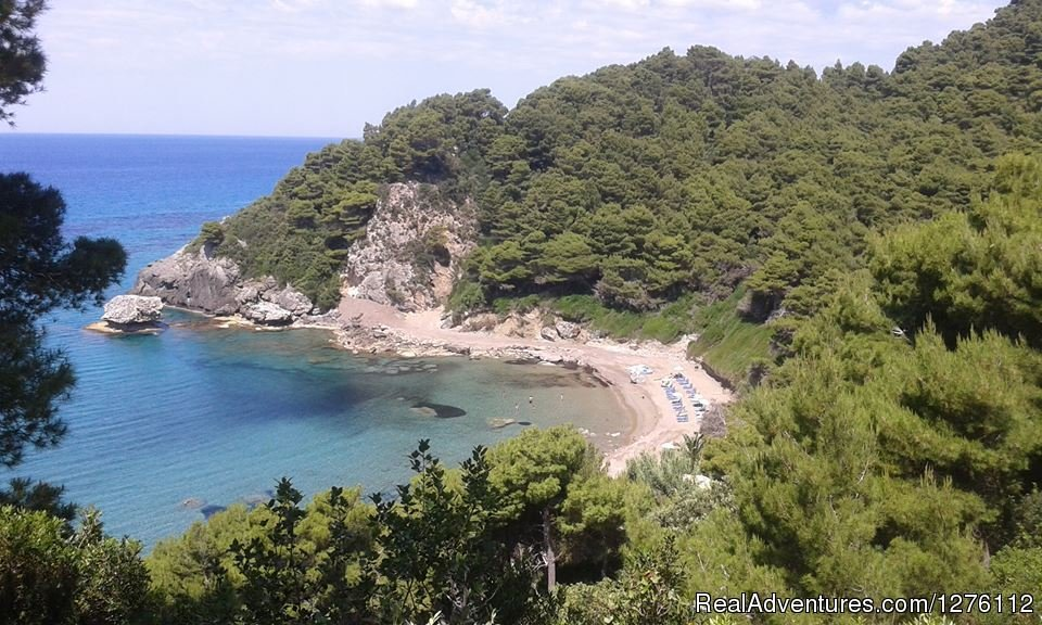 Secluded  Beach | Image #10/12 | Discover Corfu beauties on Quad/ATV Safari Tour