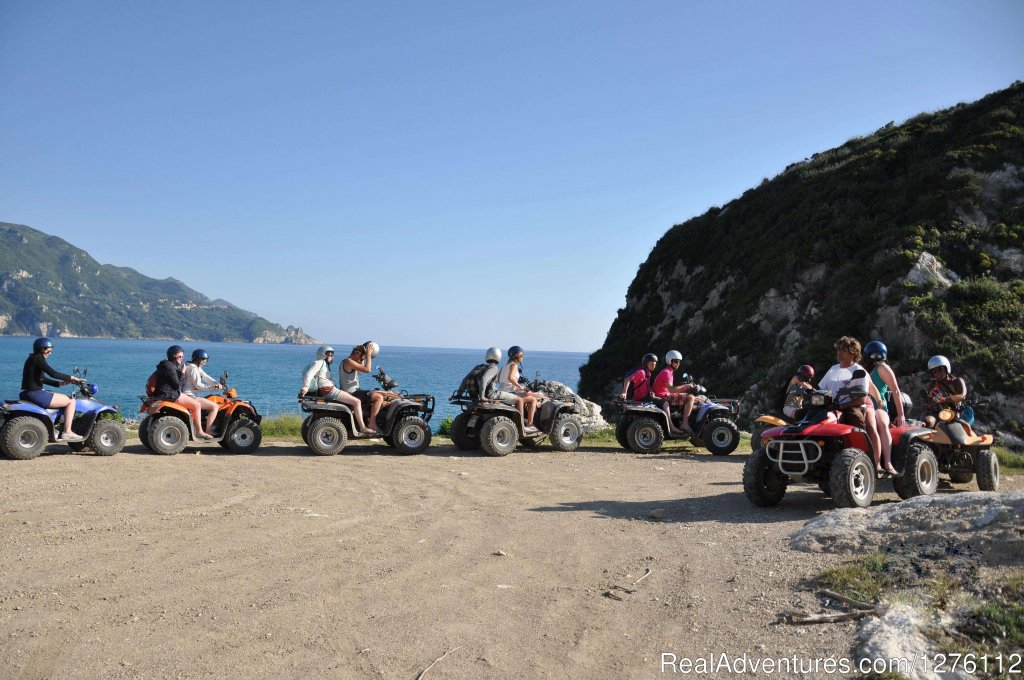 Beach break | Image #11/12 | Discover Corfu beauties on Quad/ATV Safari Tour