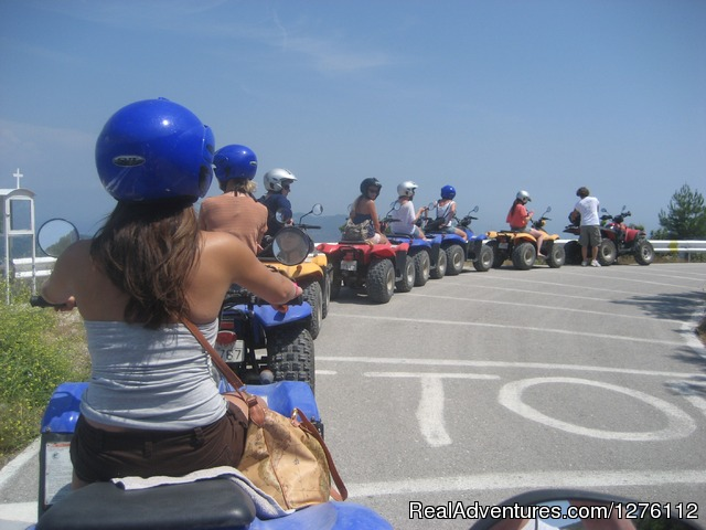 Corfu Atv Quad  Safaris &, Kayaking Trips Safari tour ready to go