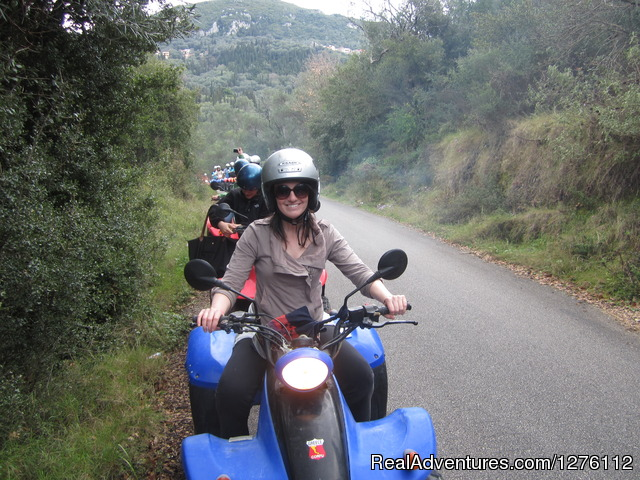 Quad/ATV Safari Tour of Corfu Island