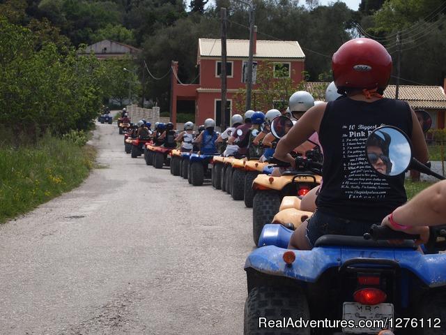 Discover Corfu Beauties On Quad Atv Safari Tour Corfu