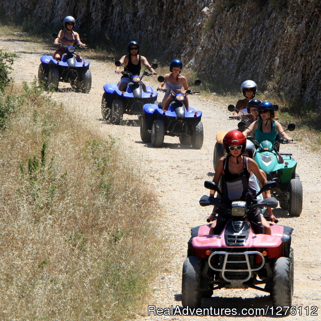 Off roading - Quad/ATV Safari Tour of Corfu Island