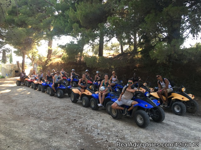 Ready to go - Discover Corfu beauties on Quad/ATV Safari Tour