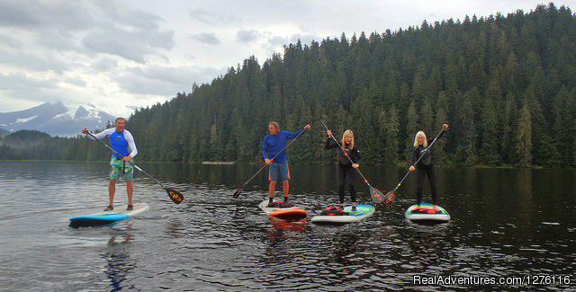 SUP Juneau with SURFit USA