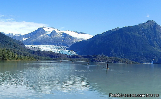 Away from it all. - Stand Up Paddleboard Adventure in Juneau, Alaska