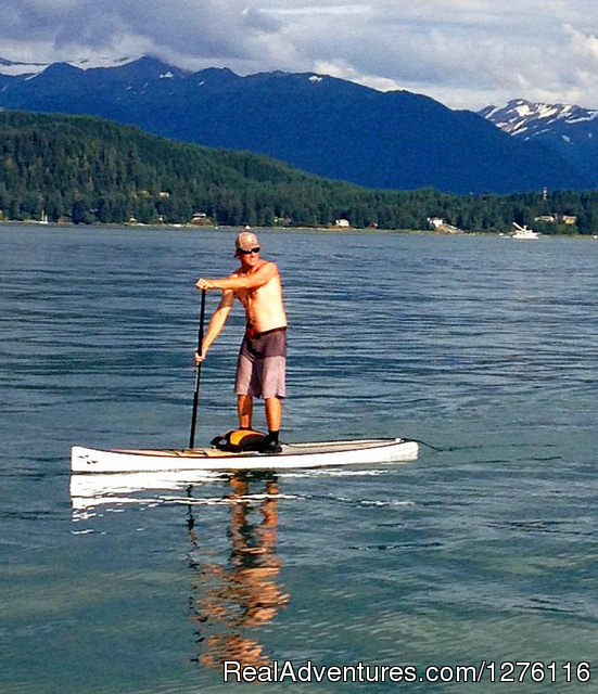 SUP Juneau with SURFit USA - Stand Up Paddleboard Adventure in Juneau, Alaska