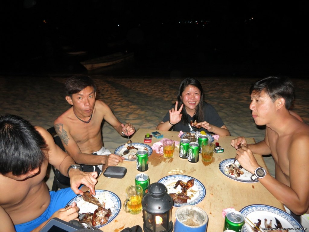 BBQ by the sea | Image #6/14 | Alantis Bay Resort, diving paradise in Malaysia