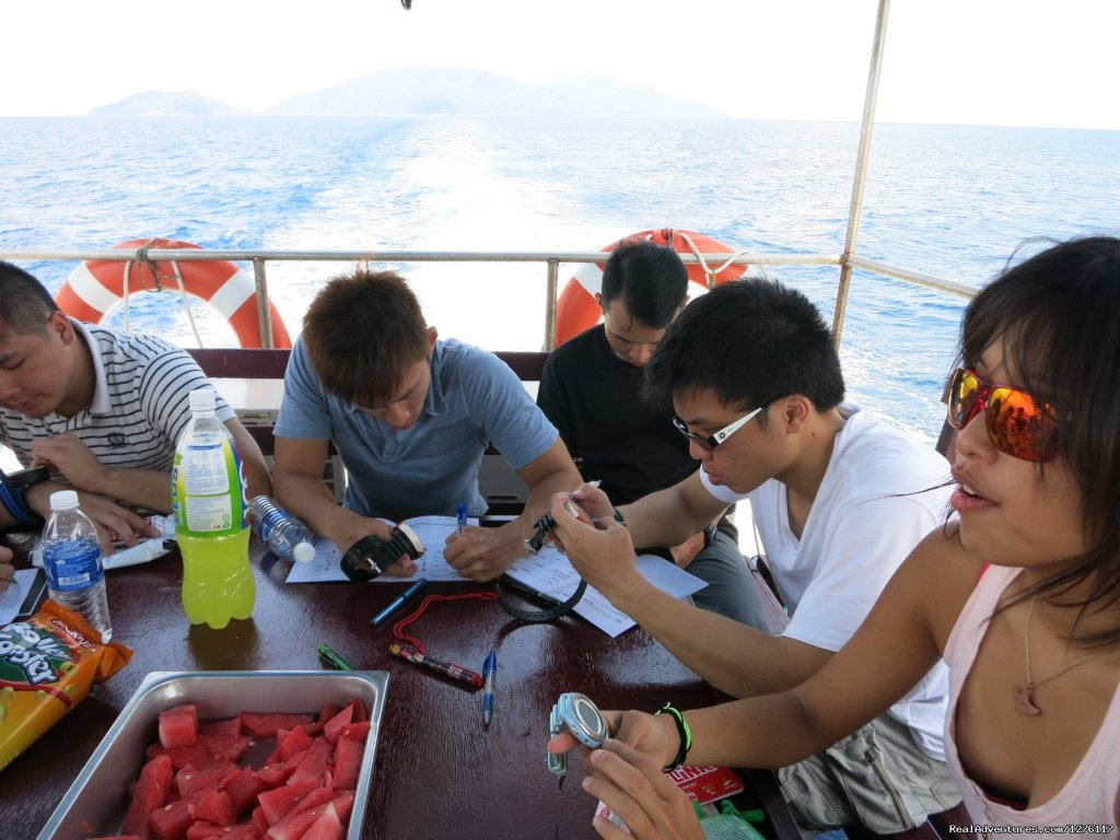 Fruits on board | Image #12/14 | Alantis Bay Resort, diving paradise in Malaysia