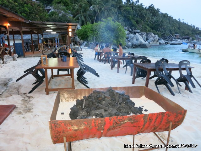 Ready for BBQ - Alantis Bay Resort, diving paradise in Malaysia