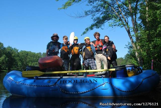 Kayak School - Whitewater Canoe Tripping