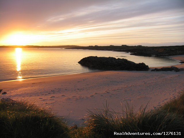 Clifden eco Beach Campsite & Caravan Park: Clifden Campsite  Wild Atlantic Way