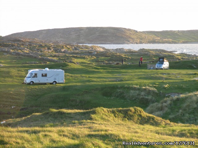 Clifden Camping  Wild Atlantic Way - Clifden eco Beach Campsite & Caravan Park