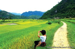 Biking Pu Luong Nature Reserve in Mai Chau Hanoi, Viet Nam Bike Tours