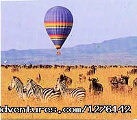 The Best  Africa Safaris at Africa Getaway Safaris Masai Mara balloon safari