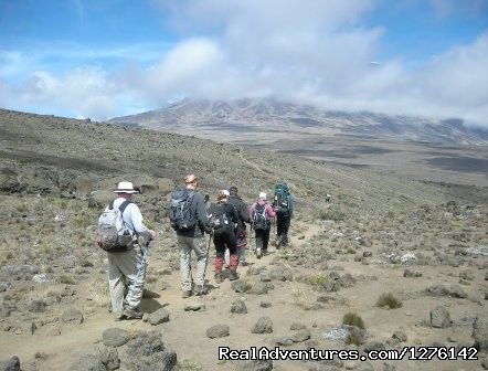 Mt Kenya/kilimanjaro Climb - The Best  Africa Safaris at Africa Getaway Safaris