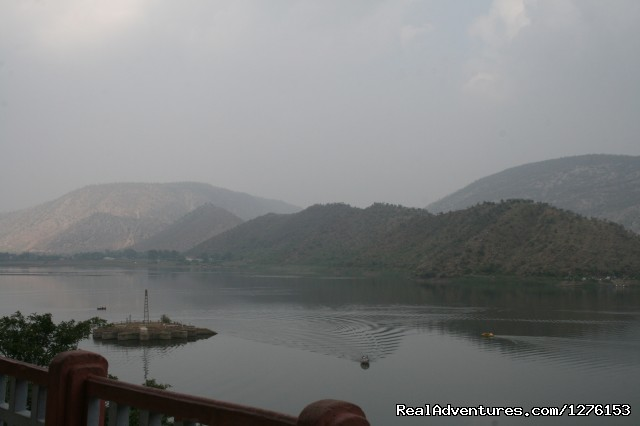 Boating in the Lake - Sariska National Park