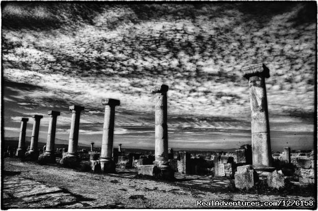 Roman ruins. - Bouaouina Tours-Morocco