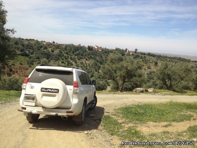 Private SUV for the private tours experiences - Bouaouina Tours-Morocco