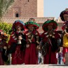 Watersellers in Marrakesh.: Bouaouina Tours-Morocco, Bhalil-Fes, Morocco