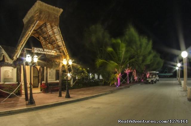 Maya Inn Holbox: Entance