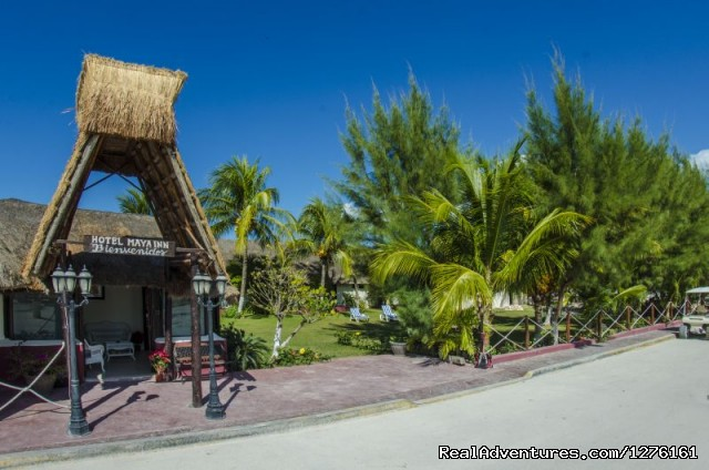 Entrance - Maya Inn Holbox