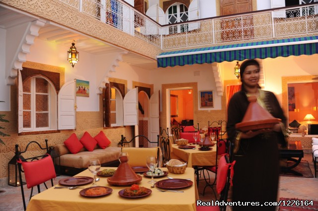 Our central courtyard - Traditional riad in medina of Marrakech