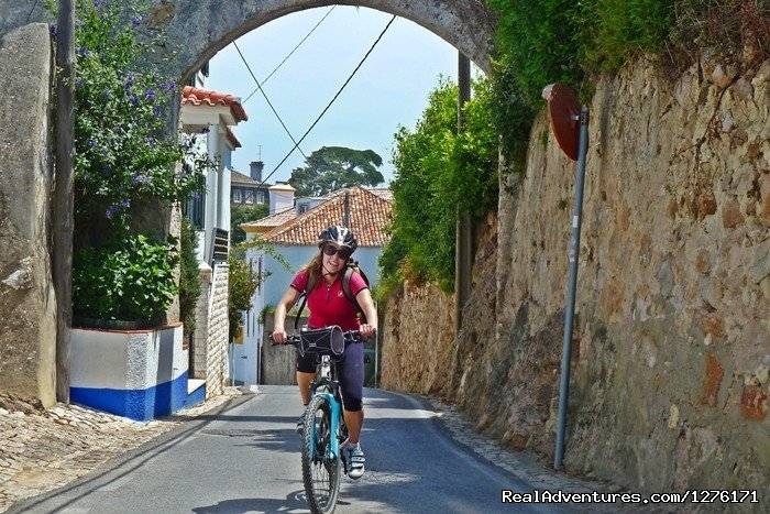 A 7 day road bike tour of the coast of Portugal in the region of Lisbon, visiting the medieval village of Ã