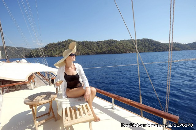 Mare Nostrum Gulet - Private Blue Cruises in Turkey Greece Croatia