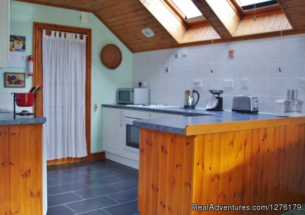Loweswater kitchen - Lake District 4 Star self catering